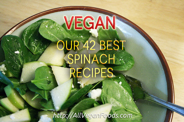 42 Vegan Spinach Recipes!