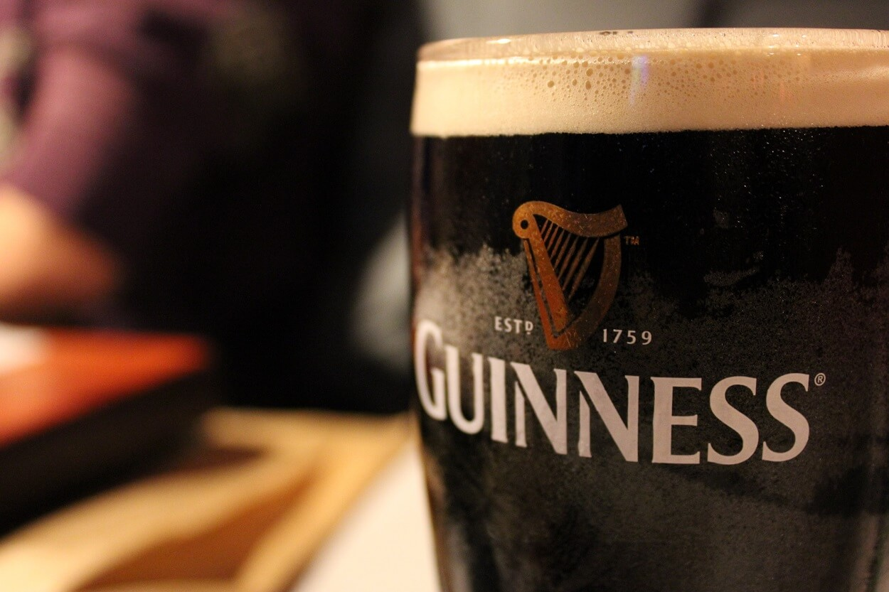 Guinness no longer fishy