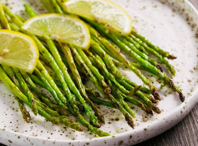 BBQ Asparagus at allveganfoods