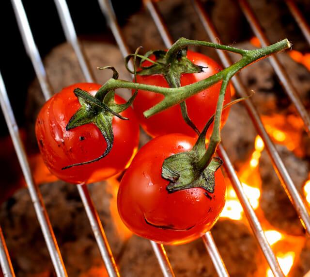 BBQ Cherry Vine Tomatoes Allveganfoods