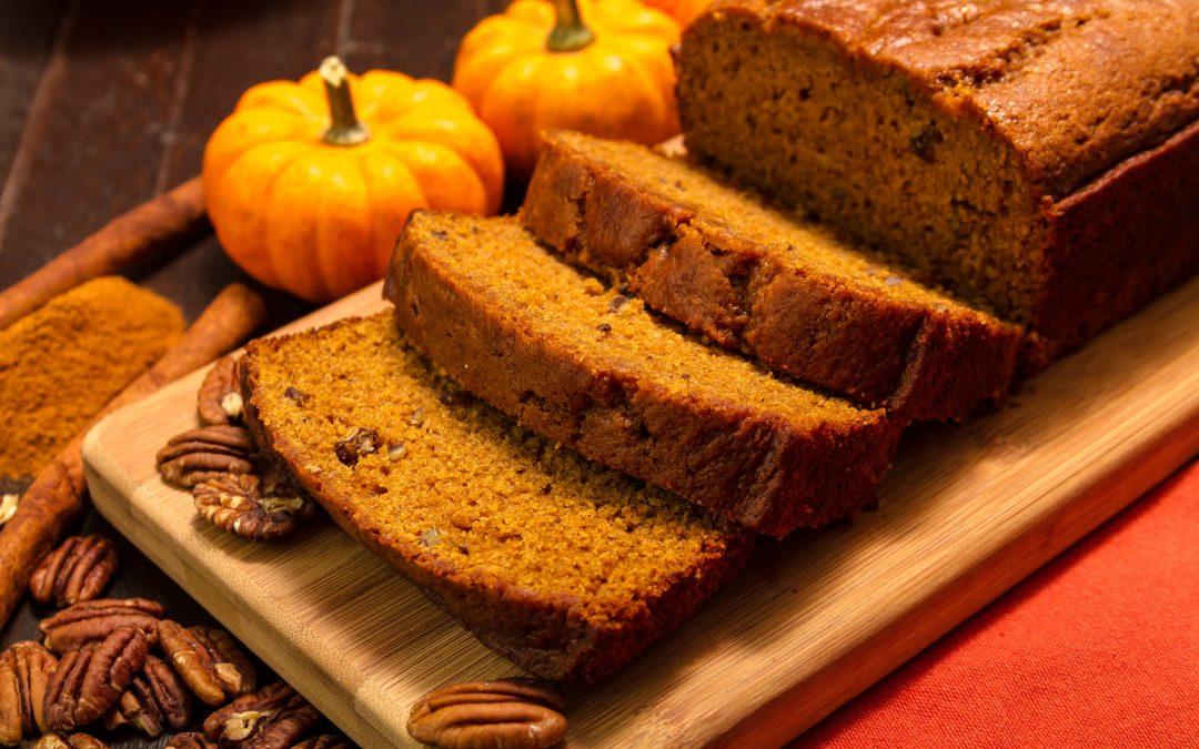 Pumpkin bread, my go-to winter quick bread favorite
